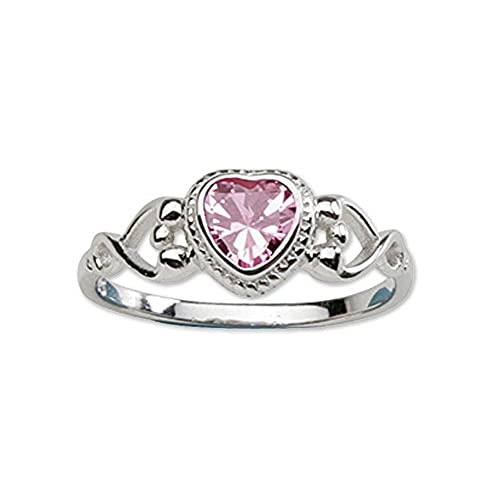 rings october ring pink gold birthstone tourmaline sapphire