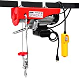 Goplus Lift Electric Hoist Garage Auto Shop Electric Wire Hoist Overhead Lift w/Remote Control (440LBS)