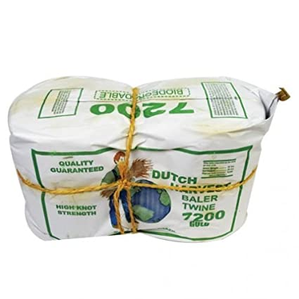 Amazon com : Dutch Harvest Baler Twine - Sisal Yellow 2 pk
