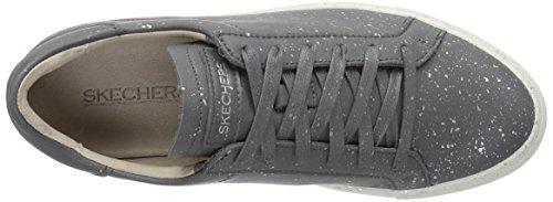 Skechers Kvinders Vaso Lace-up Mode Sneaker Grå / Multi vIZL5QkDsn