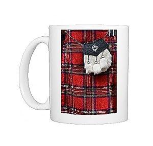 Photo Mug Of Scottish Kilt And Purse On Display For Sale Edinbur
