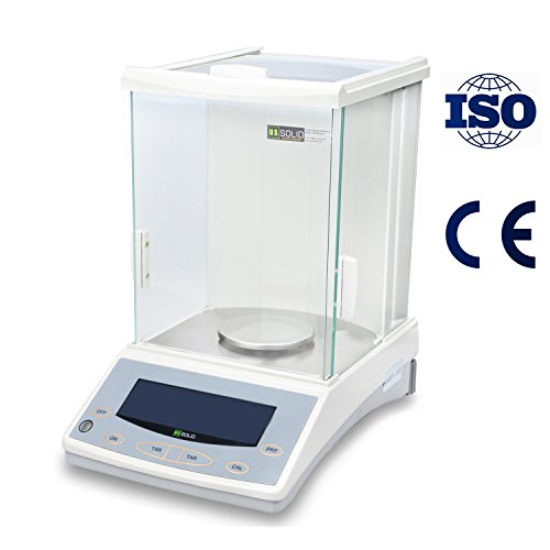 120g 0.1mg Digital Analytical Balance Scale for Laboratories from U.S. Solid by U.S. Solid