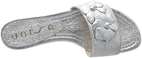 Silver Sandales Bout Argent Cella Femme Ouvert Unisa Se 8E7wqRH0