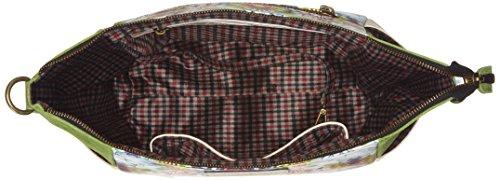 LAURA VITA Duclair - Borse a tracolla Donna, Grün (Vert), 11x26x37 cm (B x H T)