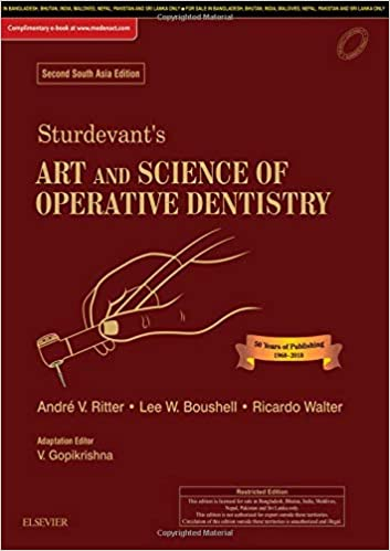 Sturdevant's Art and Science of Operative Dentistry South Asia 2nd Edition PDF