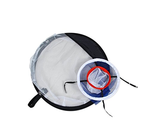 POSMA CN010A Portable Golf Training Chipping Net Bundle set with 1pc Hitting Aid Practice In/Outdoor Bag Hitting Nets + 2pcs Golf tour ball + 6pcs Golf PU ball by POSMA (Image #4)