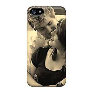 Premium Durable Hug In Love Fashion Tpu Iphone 5/5s Protective Case Cover