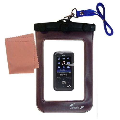 (underwater case for the Sony Walkman NWZ-S718 - weather and waterproof case safely protects against the elements)