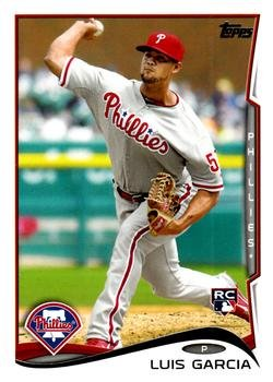 2014 Topps #451 Luis Garcia RC Philadelphia Phillies (RC Rookie Card)(Baseball Cards)