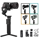 FeiyuTech G6 Max Camera Gimbal Stabilizer for Mirrorless Camera/Action Camera/Pocket Camera/Smartphone,for Sony a6300…
