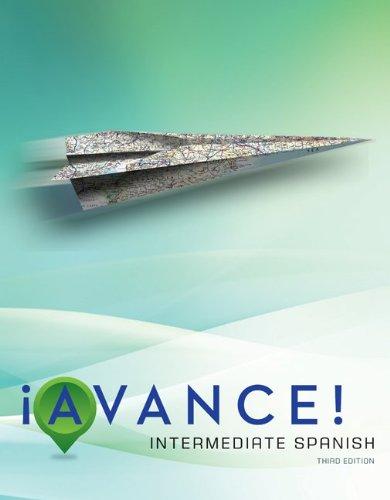 Avance Student Edition: Intermediate Spanish
