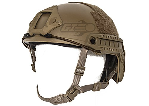 Lancer Tactical Bump Type Helmet (Flat Dark Earth/M - L) by Lancer Tactical