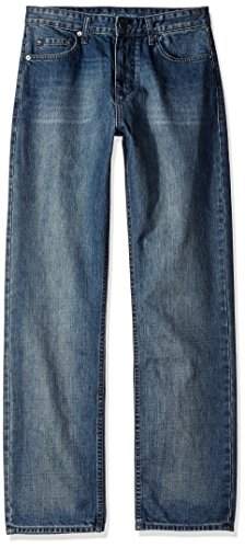 Calvin Klein Jeans Men's Relaxed Fit Jean, Chalked Indigo, 30x32 ()