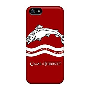 High Quality For Iphone 5/5S Phone Case Cover With Provide Private Custom Vivid Game Of Thrones Skin EricHowe
