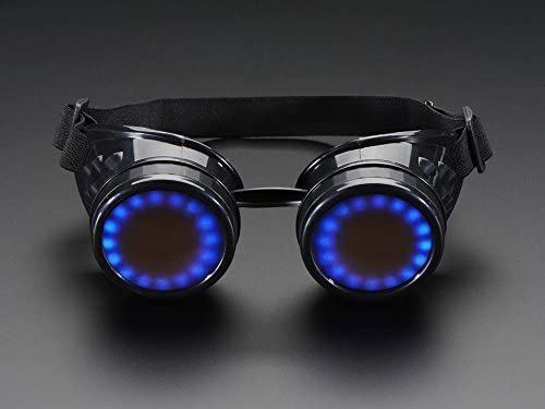 Adafruit Trinket-Powered NeoPixel Goggle Kit Pack [ADA2221]