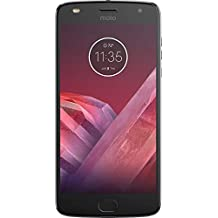 Motorola Moto Z2 Play XT1710-06 - 64GB Dual SIM LTE Factory Unlocked Smartphone (Dark Gray)