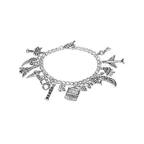 Outlander Gear HedFord Fifty Shades Charm Bracelet Jewelry