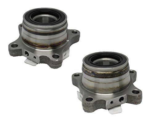 Detroit Axle Both (2) New Rear Driver & Passenger Side Complete Wheel Hub & Bearing Assembly for Toyota Trucks