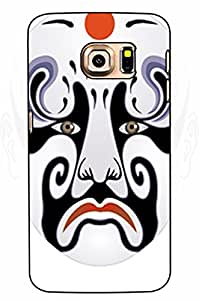 Samsung Galaxy S6 Case by Xunhome ART- Peking Opera Make-ups album-296 -Samsung Galaxy S6 Case, Samsung Galaxy S6 (5.1'') Case - Fashion Designed Style Colorful Painted TPU Soft Cover Case for Samsung Galaxy S6 (5.1'')