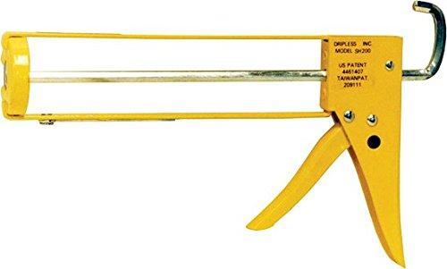DRIPLESS SH200 Skeleton Hex Rod Contractor Caulk Gun 10 Oz Skeleton Hex Rob Contractor Caulk Gun