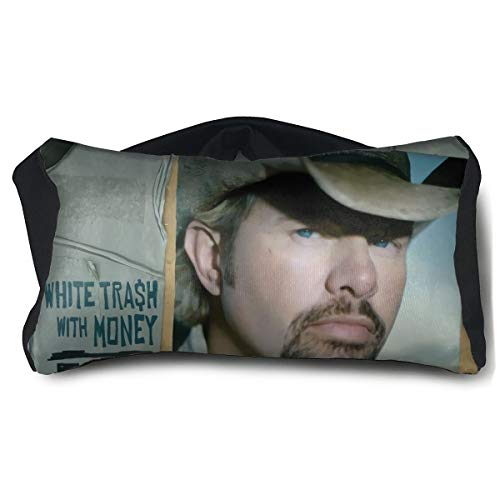Nancy J Evans Toby Keith White Trash with Money Comfort Train Stress Relief Portable Eye Pillow ()