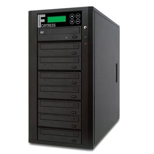 Spartan Pro 7 Target Fortress DVD/CD Disc Duplicator with DiscLock Copy Protection D07-SSPDLPRO (Built-In 500GB Hard Drive and USB)