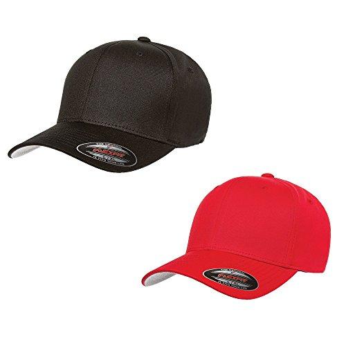 Flexfit 2-Pack Premium Original Cotton Twill Fitted Hat ()