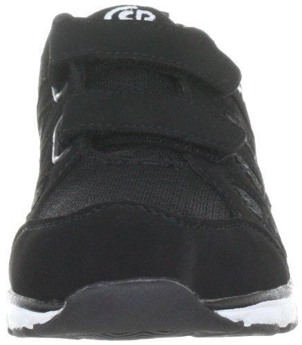 Bruetting Spiridon Fit V - Zapatillas de gimnasia para niños Negro