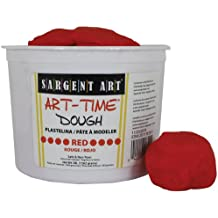 Sargent Art 85-3320 3-Pound Art-Time Dough, Red