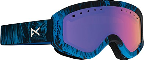 Anon Youth Tracker Goggles, Sulley Frame, Blue Amber Lens, One - Tracker Anon Goggle