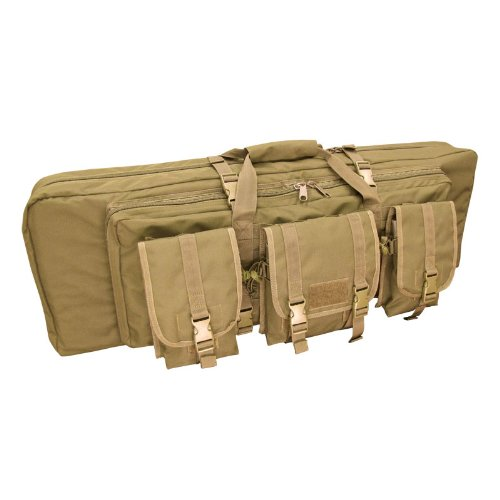 CONDOR Double Rifle Case (Tan, 42 x 13 x 4.5-Inch) ()