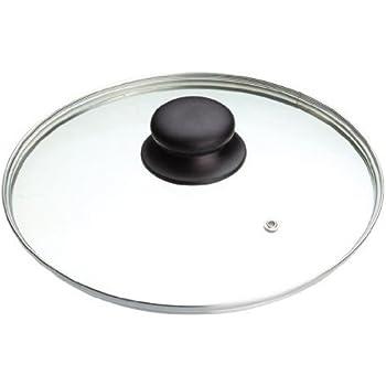 Kitchencraft Masterclass Tempered Glass Saucepan Lid, 28cm (11