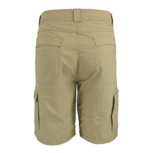 low priced a05ce 13ba7 Urimoser Casual Walk Cargo Shorts for Men Twill Summer Nylon Shorts (Khaki,  30)
