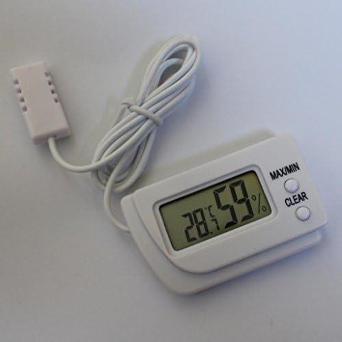 Generic Buweiser Digitales LCD-Display Temperatur und Luftfeuchtigkeitsmesser Thermometer Hygrometer g