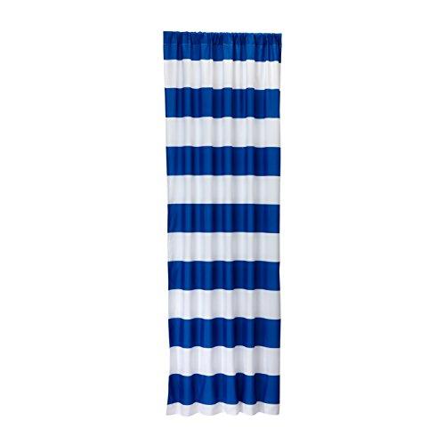 Little Bedding by NoJo Stripe Window Panel - Blue
