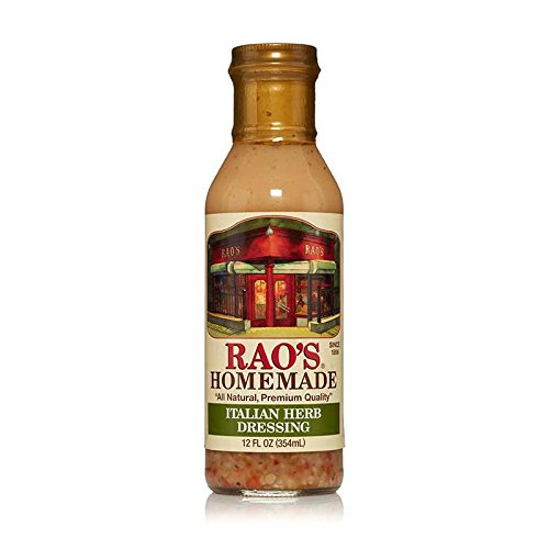 Rao's Specialty Foods, Italian Herb Dressing, 1 Pack, Creamy Italian Dressing from Aged White Balsamic Vinegar, Herbs, and Spices, Great Seasoning for Salads, Antipasto, Vegetables