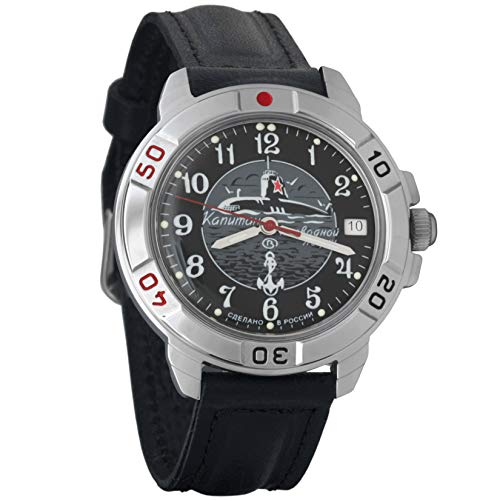 Vostok Komandirskie Commander Russian Army Mens Mechanical Military Wrist Watch #431831 ()