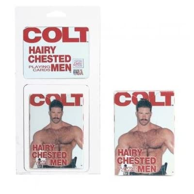 Colt Hairy Chested Men Playing Cards: Toys & Games