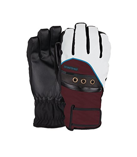 Pow Women's Astra Gloves, Port Royale, Medium (Polypro Glove Liner)