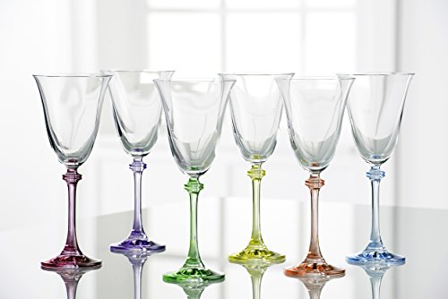- Galway Crystal Liberty Party Pack (Set of 6), Clear/Multicolor