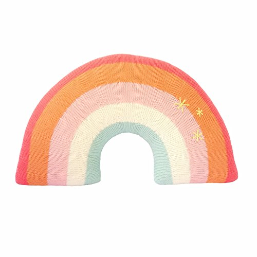 Blabla Pink Rainbow Pillow -
