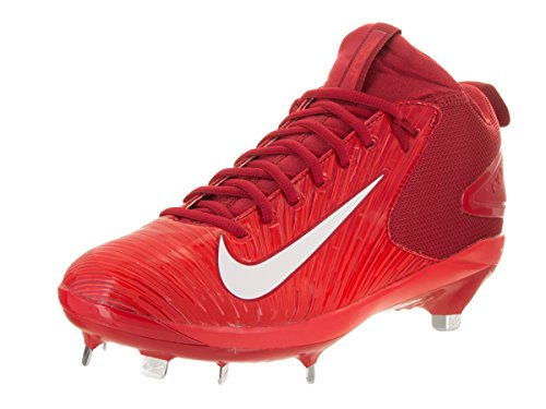 NIKE Mens Trout 3 Pro Varsity Red/White Lt Crimson Baseball Cleat 10 Men US – DiZiSports Store