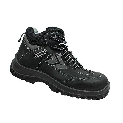 Berner hurricane s3 berufsschuhe businessschuhe chaussures de chaussures de sécurité chaussures de travail noir - Noir - Noir, 41