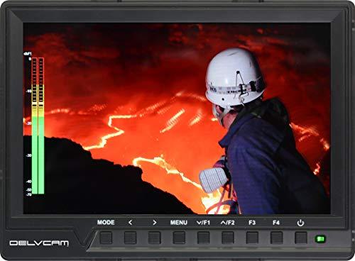 Delvcam DELV-HD7-4K, 4K 1080p 7 inch Camera Top LCD Monitor
