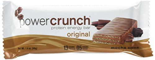 Cheap Power Crunch Protein Energy Bar, Mocha Creme, 12 Count