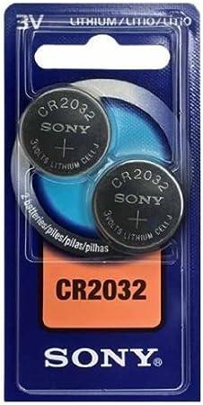 Sony 2x Cr2032 3v Single Use Battery Lithium Elektronik