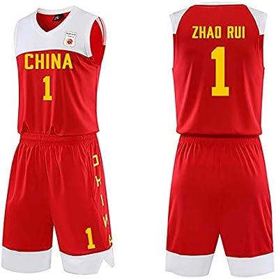 Uniforme de Baloncesto de la Camiseta del Equipo Chino, Copa ...