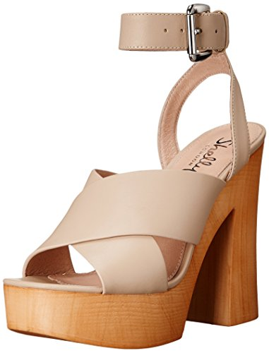 Donne Lessty Shellys Londra Sandalo Di Delle Crema 8qIHxqB