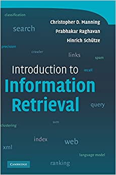 Book Introduction to Information Retrieval