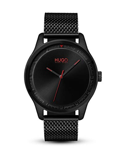 Hugo BOSS Mens Analogue Classic Quartz Watch with Stainless Steel Strap ()